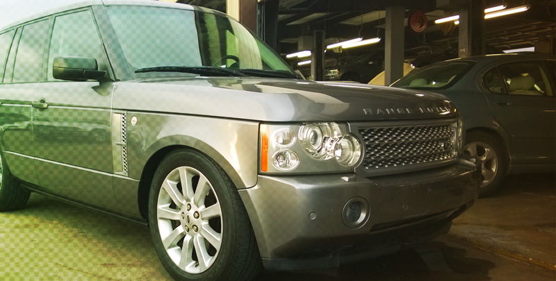 Land Rover Body Shop